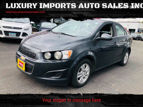2014 Chevrolet Sonic for sale at LUXURY IMPORTS AUTO SALES INC in North Branch MN
