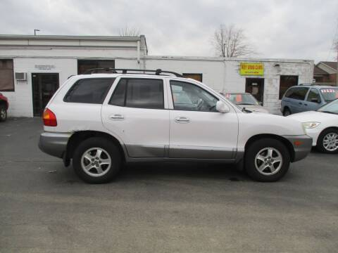 2003 Hyundai Santa Fe for sale at KEY USED CARS LTD in Crystal Lake IL