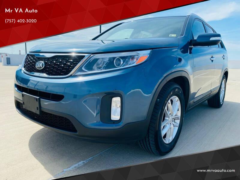 2014 Kia Sorento for sale at Mr VA Auto in Chesapeake VA