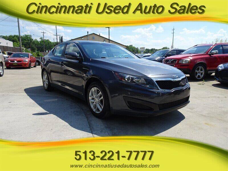 2011 Kia Optima for sale at Cincinnati Used Auto Sales in Cincinnati OH