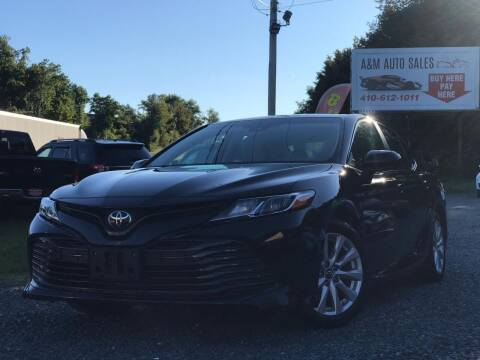 2018 Toyota Camry for sale at A&M Auto Sales in Edgewood MD