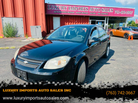 2009 Chevrolet Cobalt for sale at LUXURY IMPORTS AUTO SALES INC in North Branch MN