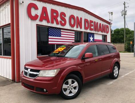 2010 Dodge Journey for sale at Cars On Demand 2 in Pasadena TX