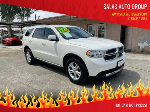 2012 Dodge Durango for sale at Salas Auto Group in Indio CA