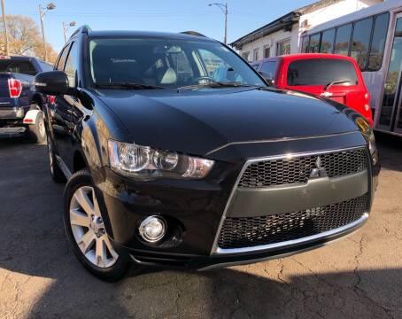 2012 Mitsubishi Outlander for sale at Jeff Auto Sales INC in Chicago IL