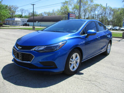 2016 Chevrolet Cruze for sale at Triangle Auto Sales in Elgin IL