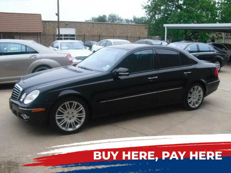 2008 Mercedes-Benz E-Class for sale at German Exclusive Inc in Dallas TX