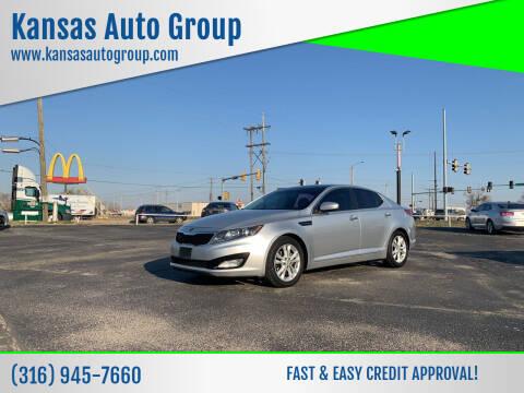 2013 Kia Optima for sale at Kansas Auto Group in Wichita KS