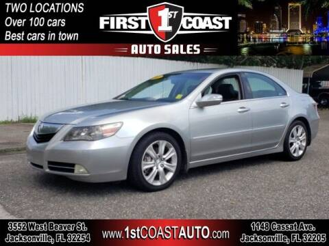 2009 Acura RL for sale at 1st Coast Auto -Cassat Avenue in Jacksonville FL