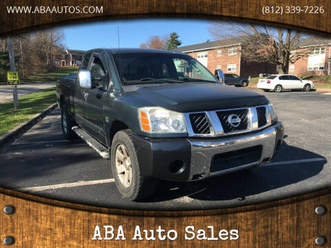 2004 Nissan Titan for sale at ABA Auto Sales in Bloomington IN