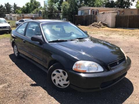 1997 Honda Civic for sale at 3-B Auto Sales in Aurora CO