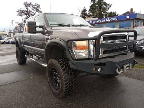 2008 Ford F-350 Super Duty for sale at All American Motors in Tacoma WA