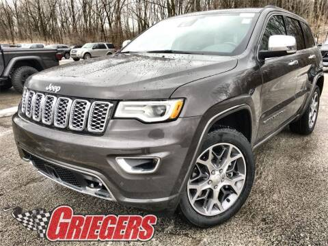 2021 Jeep Grand Cherokee for sale at GRIEGER'S MOTOR SALES CHRYSLER DODGE JEEP RAM in Valparaiso IN