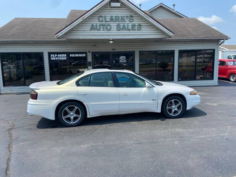 2004 Pontiac Bonneville for sale at Clarks Auto Sales in Middletown OH