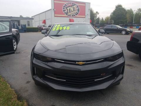 2016 Chevrolet Camaro for sale at AUTOPLEX 528 LLC in Huntsville AL
