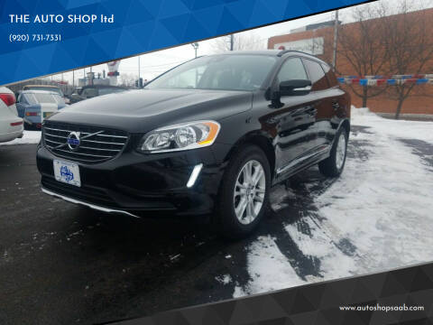 2015 Volvo XC60 for sale at THE AUTO SHOP ltd in Appleton WI