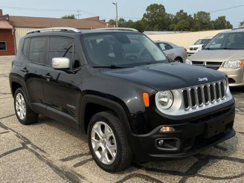 2017 Jeep Renegade for sale at Miller Auto Sales in Saint Louis MI