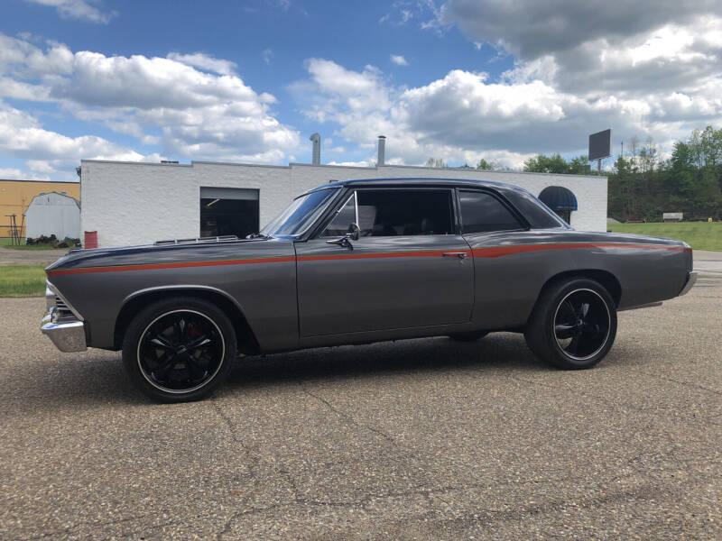 1966 Chevy Chevelle for sale at Jim's Hometown Auto Sales LLC in Byesville OH