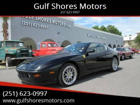 2000 Ferrari 456M for sale at Gulf Shores Motors in Gulf Shores AL