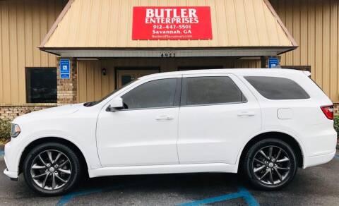 2014 Dodge Durango for sale at Butler Enterprises in Savannah GA