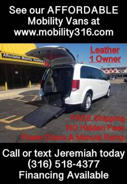 2020 Dodge Grand Caravan for sale at Affordable Mobility Solutions, LLC - Mobility/Wheelchair Accessible Inventory-Wichita in Wichita KS