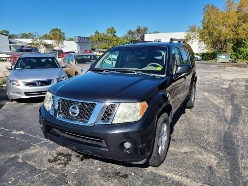 2008 Nissan Pathfinder for sale at CAR-RIGHT AUTO SALES INC in Naples FL