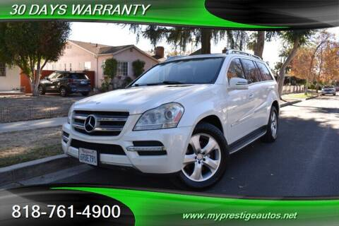 2011 Mercedes-Benz GL-Class for sale at Prestige Auto Sports Inc in North Hollywood CA