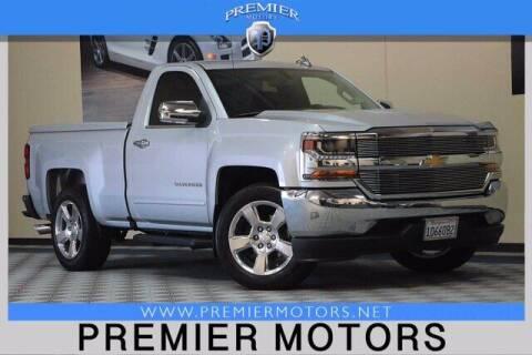 2016 Chevrolet Silverado 1500 for sale at Premier Motors in Hayward CA