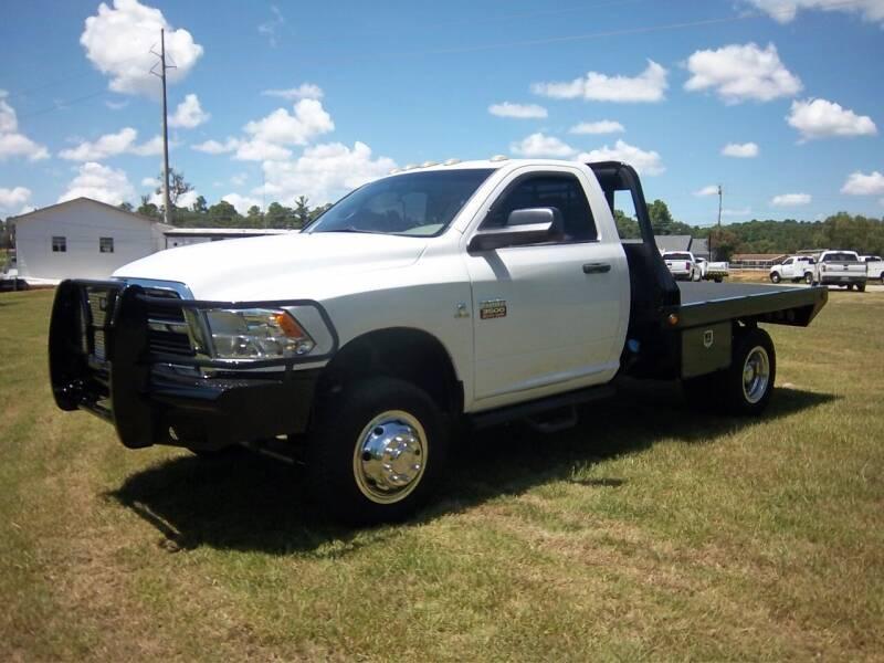 2012 RAM 3500 4x4 Flat Bed 2dr - Augusta GA