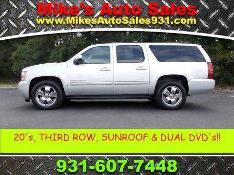 2013 Chevrolet Suburban for sale at Mike's Auto Sales in Shelbyville TN