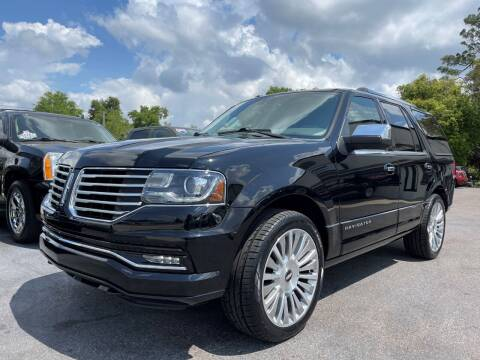 2016 Lincoln Navigator for sale at Upfront Automotive Group in Debary FL