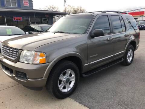 2002 Ford Explorer for sale at Wise Investments Auto Sales in Sellersburg IN