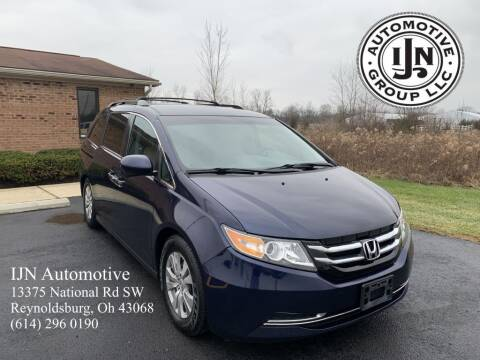 2014 Honda Odyssey for sale at IJN Automotive Group LLC in Reynoldsburg OH
