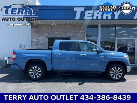 2019 Toyota Tundra for sale at Terry Auto Outlet in Lynchburg VA