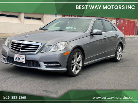 2012 Mercedes-Benz E-Class for sale at BEST WAY MOTORS INC in San Diego CA