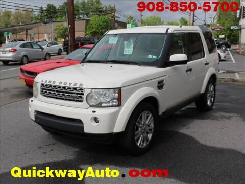 2010 Land Rover LR4 for sale at Quickway Auto Sales in Hackettstown NJ