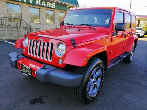 2018 Jeep Wrangler JK Unlimited for sale at KRIS RADIO QUALITY KARS INC in Mansfield OH