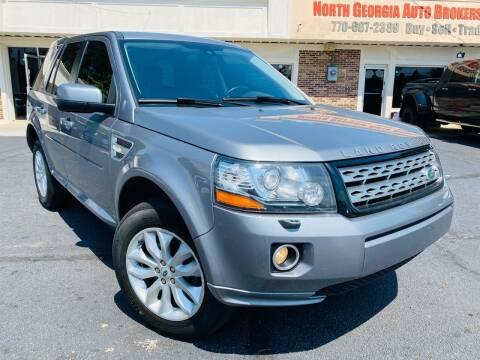 2013 Land Rover LR2 for sale at North Georgia Auto Brokers in Snellville GA