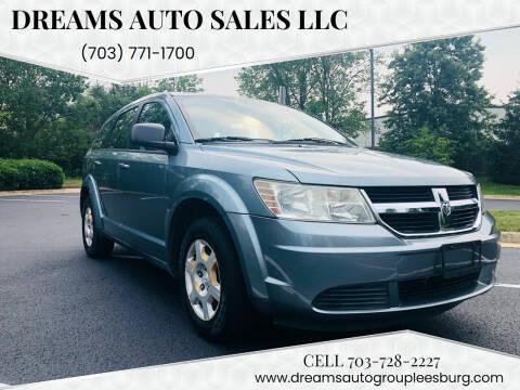 2009 Dodge Journey for sale at Dreams Auto Sales LLC in Leesburg VA