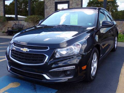2015 Chevrolet Cruze for sale at Rogos Auto Sales in Brockway PA