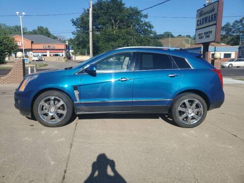 2010 Cadillac SRX for sale at RIVERSIDE AUTO SALES in Sioux City IA