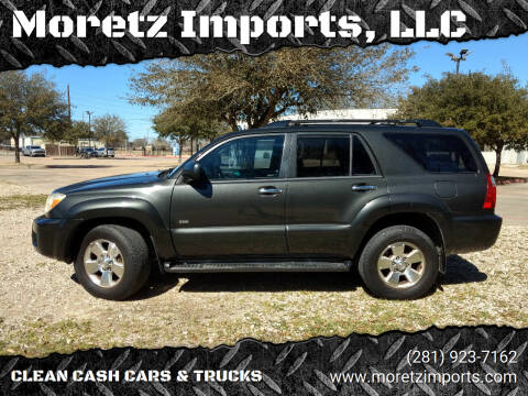 2006 Toyota 4Runner for sale at Moretz Imports, LLC in Spring TX