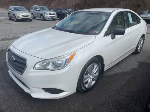 2015 Subaru Legacy for sale at Turner's Inc in Weston WV