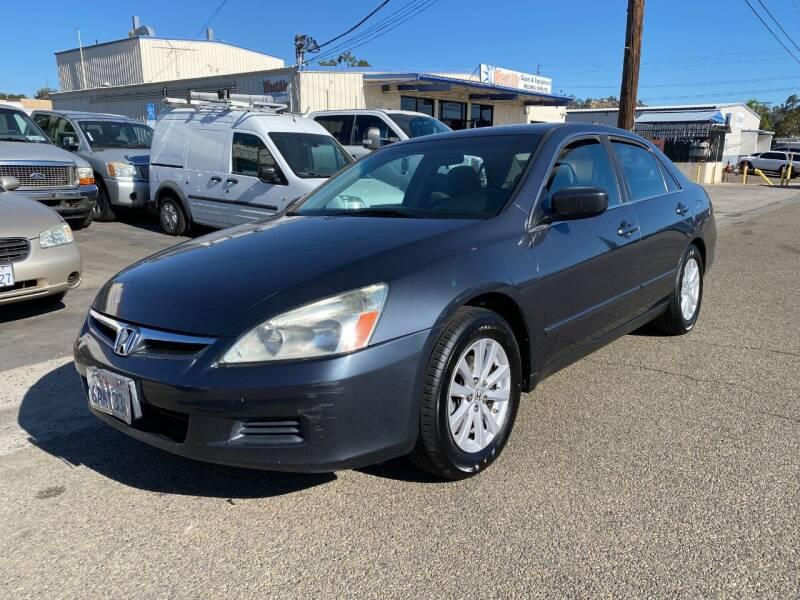 2007 Honda Accord for sale at Ricos Auto Sales in Escondido CA