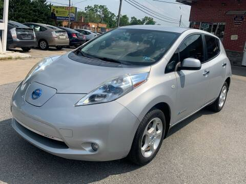 2012 Nissan LEAF for sale at Sam's Auto in Akron PA