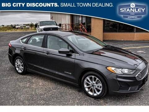 2019 Ford Fusion Hybrid for sale at STANLEY FORD ANDREWS in Andrews TX