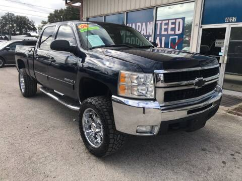 2008 Chevrolet Silverado 2500HD for sale at Lee Auto Group Tampa in Tampa FL