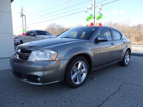2011 Dodge Avenger for sale at KING RICHARDS AUTO CENTER in East Providence RI