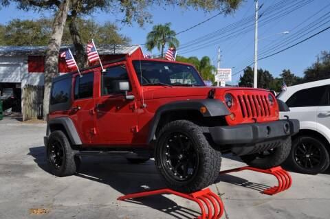 2008 Jeep Wrangler Unlimited for sale at STEPANEK'S AUTO SALES & SERVICE INC. in Vero Beach FL