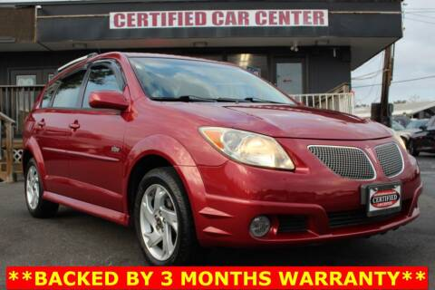 2008 Pontiac Vibe for sale at CERTIFIED CAR CENTER in Fairfax VA